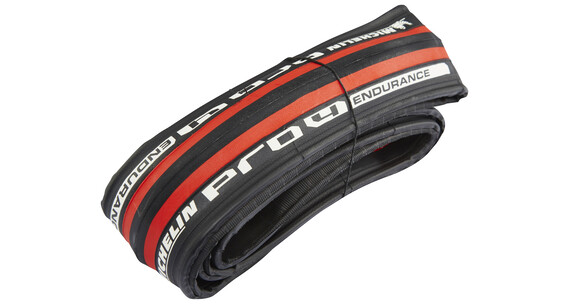 "Michelin Pro4 Endurance V2 - Cubiertas - 28"" rojo"